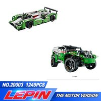 LEPIN 20003 Technic Series The 24 horas Race Car Building Assemblando Blocks Bricks 1280 pcs Brinquedos Compatível com 42039