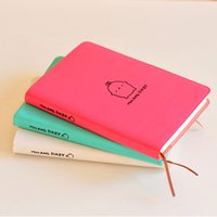 Wholesale 2017 Molang Rabbit Notebook Diary Weekly Planner Agenda Scheldule Cute Rabbit For Kids Gift Korean Stationery Three Covers