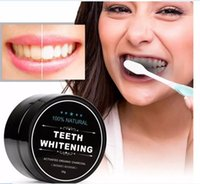 Wholesale Tooth Whitening Nature Bamboo Activated Charcoal Smile Powder Decontamination Tooth Yellow Stain Bamboo Toothbrush Toothpaste Oral Care B01