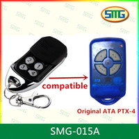 Wholesale Ata Door Remote - Wholesale- 5pcs 433.92 MHz Gate Garage Door Remote Control Transmitter For ATA PTX4 SecuraCode