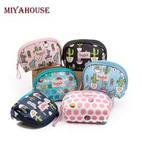 Wholesale Candy Color Female Bag - Wholesale- Miyahouse Candy Color Women Makeup Bags Cute Cosmetics Pouch For Travel Ladies Pouch Female Small Zipper Cosmetic Bag