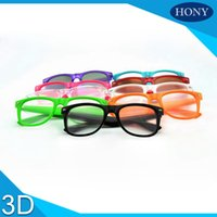 Wholesale Glass Fireworks - Wholesale- 1pcs Wayfarer Style Plastic Frame Spiral fireworks lens glasses, rainbow 3D glasses,diffraction glasses for rave parties