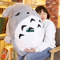 Wholesale Giant Stuffed Totoro - Dorimytrader Hot Lovely Anime Totoro Plush Toy Giant 110cm Cute Cartoon Stuffed Totoro Doll Kids Pillow Baby Present 43inches DY61633