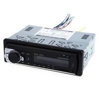autoradio mp3 eingang großhandel-12 V Bluetooth Autoradio Auto Audio Stereo In-Dash 1 Din FM Empfänger Aux Input Empfänger USB MP3 MMC WMA Radio Player für Fahrzeug