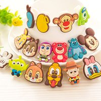 Wholesale Cartoon Mini Hairpin Cute Silica gel Tags Clips Bags Pins Pretend Play and Dress up