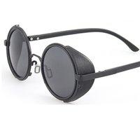 круглые круглые солнцезащитные очки оптовых-НОВЫЙ STEAMPUNK раунд Дизайнер Steam Punk Металл OCULOS de Sol Женщины ПОКРЫТИЯ СОЛНЕЧНЫХ ОЧКОВ Новые Мужчины Ретро CIRCLE Солнцезащитные очки Y11