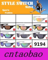 Wholesale Drop Shipping Sunglasses - 9 Colors 2015 New Glasses Riding Sunglasses Designer Sunglasses 12 Style Switch 9194 Fashion Sunglasses Drop shipping
