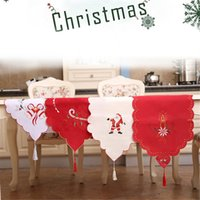 Wholesale Table Runners Satin Free Shipping - 4 style Satin Table Runner Many Colors You Pick For Christmas Wedding Holiday Decor Favor New Elegant Edyge RUN free ship