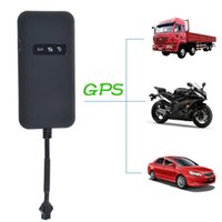 Wholesale Quad Band Gps Tracking - Realtime Car Motorcycle GSM GPRS GPS Tracker Quad Band Tracking Device TK110 GPS Locator Google Link Real Time Tracking