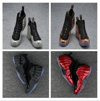 Wholesale Black Shoes New Model - New Arrival 32 Colours New Model With High Quality Penny Hardaway Red Suede Men Basketball Sport Footwear Sneakers Shoes Size US 7-13