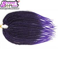 ingrosso proiezioni ondulate dei capelli di treccia-18