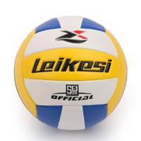 шары для пляжа оптовых-2017 новый профессиональный конкурс волейбол мяч крытый открытый пляжный волейбол обучение цель волейбол бесплатная доставка
