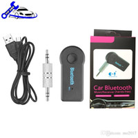 Wholesale Mazda Bluetooth Audio - Universal 3.5mm Streaming A2DP Wireless Bluetooth Kit AUX Audio Music Receiver Adapter Handsfree with Mic For Phone MP3