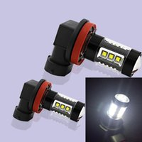 Prix ​​d'usine 80W High Power Car Lights H16 80W CREE 16SMD Car Led Fog Light Bulb