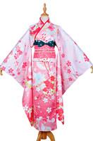 Wholesale Kimono Cosplay Female - Wholesale-Japanese Anime Love Live School Idol Project Unwakened Love Live Kimono Cosplay Yazawa Nico Cosplay Costume