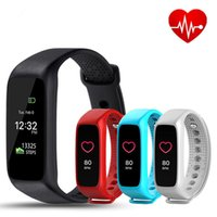 Wholesale Tft Wrist Monitor - New Arrival L30T Bluetooth Smart Band Dynamic Heart Rate Monitor TFT-LCD Screen Smartband for android IOS Smartphone