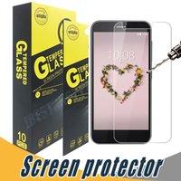Wholesale Screen L5 - Tempered Glass Screen Protector Anti Shatter 9H 2.5D Screen Protector Film For ZTE Axon Secret Mini 7 Z11 Z11 Mini L5 Zmax Z9130