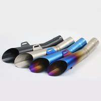 Wholesale R6 Muffler - Inlet 52MM Motorcycle Exhaust R6 Brands Muffler Pipe Moto Escape With Moveable DB Killer For YAMAHA YZF R6 (2004 -2016) AK