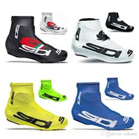 Wholesale Bike Care - 2017 Cycling Shoes Cover Bicycle Shoes Care Cycling Tight Bike Kits Black White Blue Yellow Winter Thermal Cycling