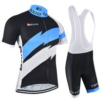 Wholesale Fashion Bike Shorts - 2017 Men Cycling Jerseys Sets BXIO Brand New Arrival Bikes Clothes Fashion Summer Short Sleeve Cycle Clothing Ropa Ciclismo BX-146