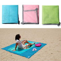 sports blanket - 120 cm Foldable Sand Free Mat Camping Blanket Picnic Mattress Beach Cushion Outdoor Sports Accessory Colors Sandless Mat CCA6606
