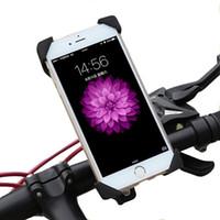 iphone stand rotierend großhandel-Universal 360 rotierenden Fahrrad Fahrrad Handyhalter, Fahrrad Telefonständer, Motorradhalter Cradle für iPhone, Samsung Galaxy