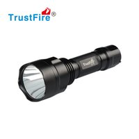 Wholesale Dive Flash Light - Linternas LED Flashlight 18650 Rechargeable Battery Cylindrical LED Lights Tactical Military Flash Light Waterproof Aluminum Torch Hunting