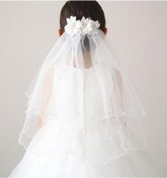 Wholesale Honey Bridal - 2016#V002 New Twig&Honeys Imitation Tulle Bridal Veil in Stock Vintage Custom Size Wedding Accessories Flower Girl Veils