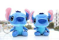 Wholesale Baby Lilo Stitch - One Piece Kawaii Anime Stitch Plush Toys 35cm Lilo and Stitch Plush Puzzle Baby Toys Stuffed Animal Doll Kids Toys For Children