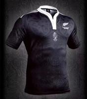 Wholesale Maroon T Shirts - New Zealand Maori All Blacks 100 Anniversary Commemorative Edition QLD Maroons Jersey t shirt 2017 2018 Rugby Jerseys BIG SIZE 4xl 5xl