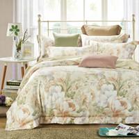 Wholesale Tencel Fabric Sheets - 60 yarn tencel fabric bed sheet bed linen four pieces bedding set 100% cotton fabric,flower designs blue color car childrenhood yinxiangzhim