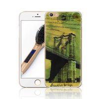 "Wholesale Bridge Pattern - Brooklyn Bridge 3D UV Printing Pattern Plastic Hard Back Protective Skin Cover Case For Apple iPhone 6 6S 4.7"" New"