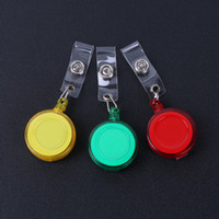 Retractable Lanyard ID Card Badge Holder Reels avec Clip Keep ID Key Téléphone portable Safe wa3193