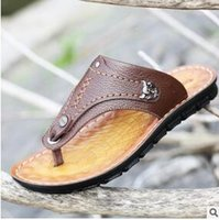 Wholesale Barbecue Cooler - Barbecue shark summer new men's casual cool sandals sandwich sandals leather sandals men's shoes a generation of hair