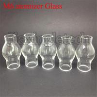 ingrosso atomizzatore di cera m6 di ego-M6 Bulbo atomizzatore vetro Pyrex tubo per cera vetro globo atomizzatore secco Herb vaporizzatore Clearomizer serbatoio per sigaretta elettronica ego