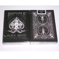 Wholesale Bicycle Playing Cards Free Shipping - Ellusionist Black Ghost Deck Bicycle Playing Cards Tricks Magic Poker Card Magic Trick Free Shipping