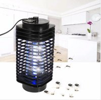 Wholesale Electronic Fly Killers - Electronic Indoor Insect Mosquito Fly Pest Bugs amp Zapper Killer Bug Insect Zapper Killer Control With Trap Lamp KKA1990