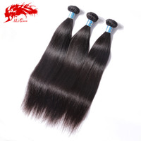али человеческие волосы оптовых-Wholesale-Peruvian Virgin Hair Straight Ali Queen Hair Products 3pcs/Lot Unprocessed 6A Virgin Peruvian Straight Virgin Human Hair Weave