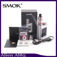 Wholesale Ecig Kits - SMOK Alien Baby Kit AL85 Starter Kit Tiny E Cigarette Starter Kit ECig Vape 85w Box Mod vs istick pico 0268040