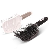 Paddle Brush Normal Hair Plastic Natural Rubber Needle Plate Magic Hair Comb Brush Antistatic Detangling Massage Hairbrush Hairdressing Styling Tool VH107