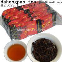 çin ücretsiz paketi toptan satış-2019 yıl 20 samll paketleri 150g Çin Oolong Çay, büyük Kırmızı Robe, Dahongpao Da Hong Pao Çay, sağlık Çin Oolong Çay ücretsiz kargo