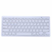 1 1  Ultra Slim Bluetooth 3.0 Wireless Keyboard 2.4GHz Game Gaming Mechanical Keyboards for Apple iPad Windows Android IOS