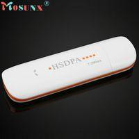Wholesale Usb Modem Adapter - Wholesale- HSDPA EDGE 7.2Mbps Wireless 3G Network Modem Adapter TF SIM Card Slot WH_KXL0223