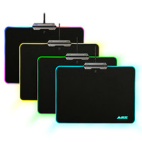 Wholesale Hard Wire - AJAZZ RGB Gaming Mouse Pad Hard Gaming Mousepad 9 Lighting Modes Touch Control Mice Mat USB Wired Mouse Mice Pad for Games Office