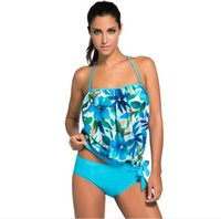 Wholesale Sexy Invisible Swimsuits - Europe station chic leisure beach swimsuit Fashion Sexy Swimwear bikinis size split invisible bra running wetsuits board shorts