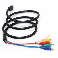 5FT 1.5M HDMI vers 5 RCA RGB Composant Câble HDTV Cord Audio AV Video Converter