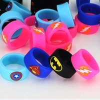 Wholesale Batman Silicone - Vape Band Silicone Rings Colorful Decoration Protection Rubber Rings Deadpool Flash Hulk Batman 11pcs Logo Fit E Cigarette DHL Free