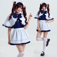 Maid Cosplay Schal Kostüm Schmetterling Knoten Anzug Uniform Seduction Cosplay Rolle spielen Student Outfit Kleider