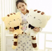 45CM Lovely Big Face Souriant Chat Stuffed Peluche Jouets Brinquedos Best Gifts for Kids High Quality