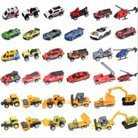 6Pcs / package Pull Back Juguetes Car Niños Carreras de coches Baby Learning Educación Juguetes Caricatura Mini Classic Model Cars Gifts